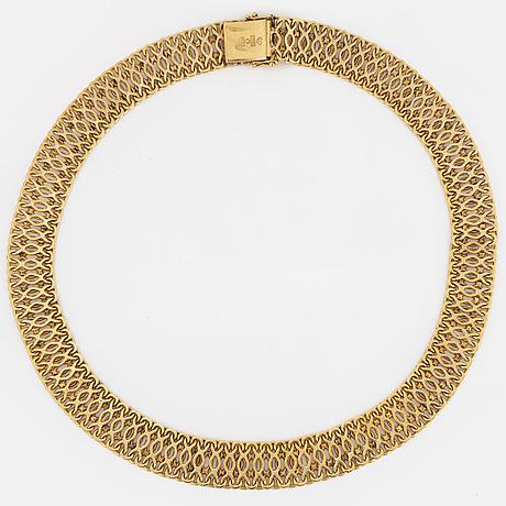 Collier 18k guld.