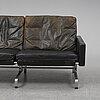 Poul kjaerholm, pk31-2 sofa, e kold christensen, denmark.