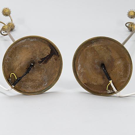 Mauri almari, golvlampor, ett par sievä/idman 1900-talets mitt.