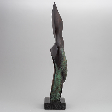 Stan wys, sculpture, bronze, 2010, signed 1/8.