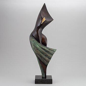 STAN WYS, sculpture, bronze, 2010, signed 1/8.