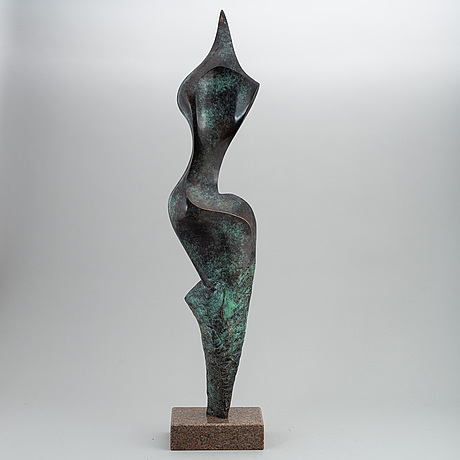 Stan wys, sculpture, bronze, 2008, signed 7/8.