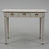 A first half of the 20th century painted writing desk.