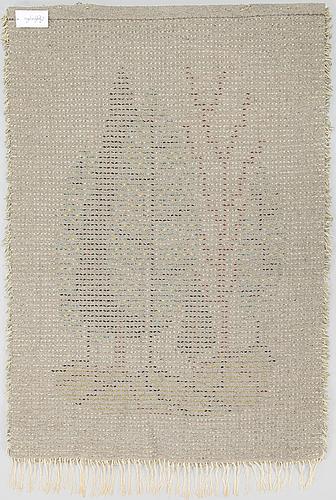 Aappo hÄrkÖnen, a finnish long pile rug. circa 145x105 cm.