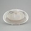 A first half of the 20th century sterling silver deep dish.