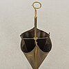 An 20th century brass umbrella stand.