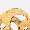 An 18k gold brooch. grun & co ab hugo, stockholm.
