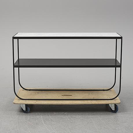 Mats broberg & johan ridderstrål, a marble top 'tati console 120', asplund.