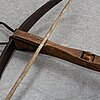 A 19th century crossbow.
