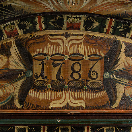 SkÅp, allmoge, märkt 1787.