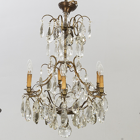 Ljuskrona barockstil 1900-talets första hälft.