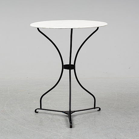A mid 20th century garden table.