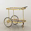 A serving trolley second half of 20th century.