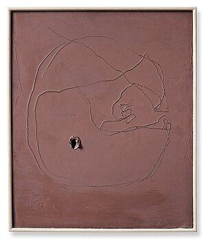 """527. Lucio Fontana, """"Concetto Spaziale""""."""