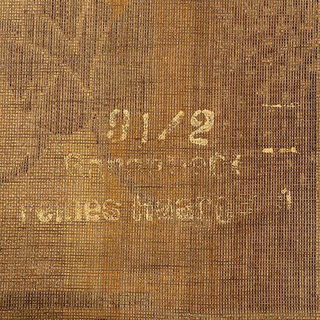 A 1940-s machine made carpet ca 350 x 244 cm.
