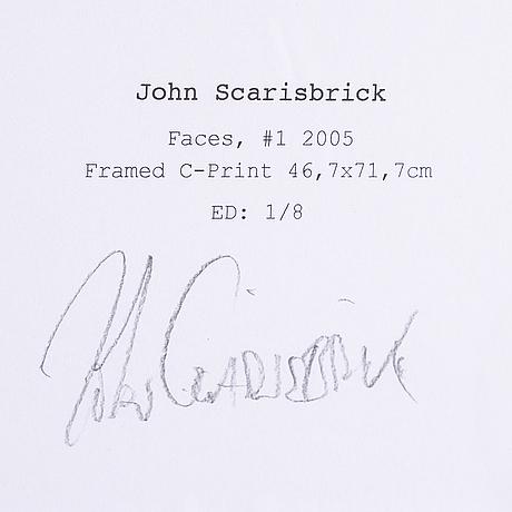 John scarisbrick, c-rptin. signed on label on verso.