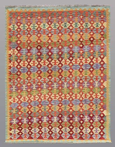 A carpet, kilim, ca 240 x 182 cm.