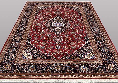 A carpat, kashan, ca 301 x 207 cm.