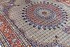 A carpet, moud, ca 388 x 300 cm.