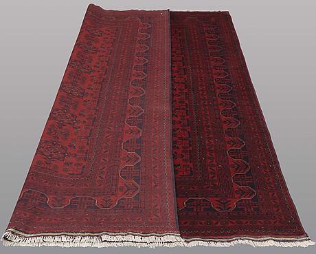 "A carpet, afghan so called "" khan mohammad"""" 295 x 203 cm."