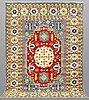 A carpet,, kazak design, ca 291 x 208 cm.