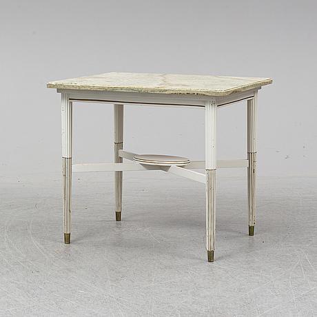 Bord, med stenskiva, 1900-tal.