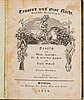 Sagosamling 1834, proveniens: rääf (8 vol).