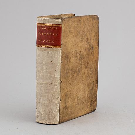 Svensk historia, tryckt i strängnäs 1636.