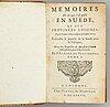 Svensk historia, bl. a. om drottning kristina, 1677 (3 vol).