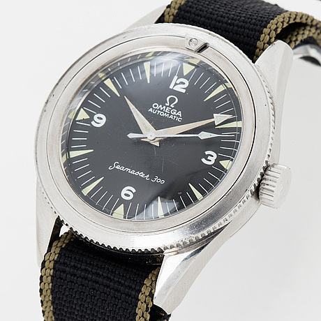 Omega, seamaster 300, wristwatch, 38 mm.
