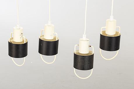 FÖnsterlampor, 4 st, 1900-talets mitt.