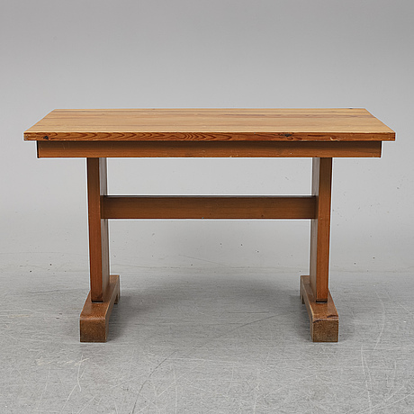A pine table c. 1940's.