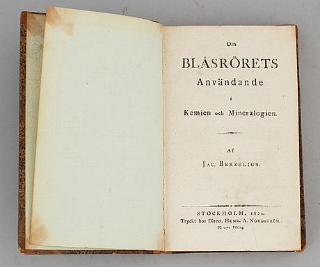 Berzelius, med graverade planscher.