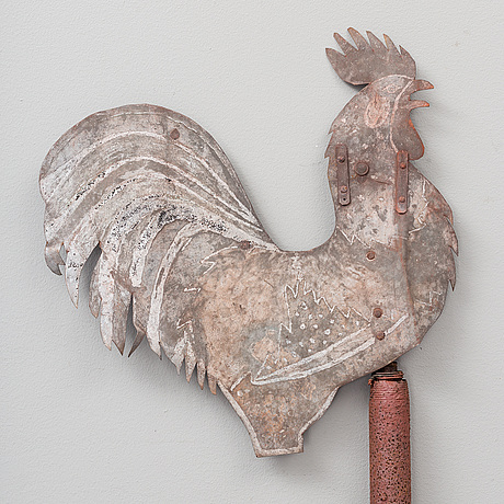 VindflÖjel, metall, 1900-talets början.