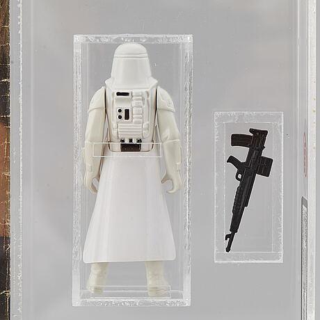 Star wars, imperial stormtrooper, yps, 1980, l.f.l no coo scar, uk graders 80 %.