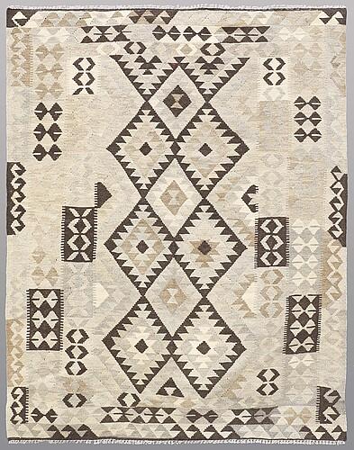A rug, kilim, ca 200 x 155 cm.