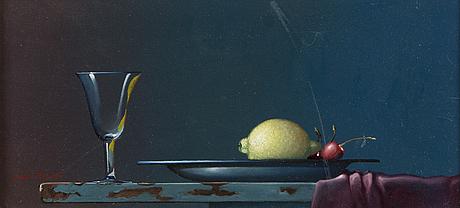 Jan palmu, oil on canvas, signed.