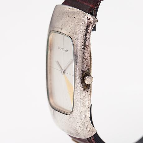 Lapponia, armbandsur, 24 x 42 mm.