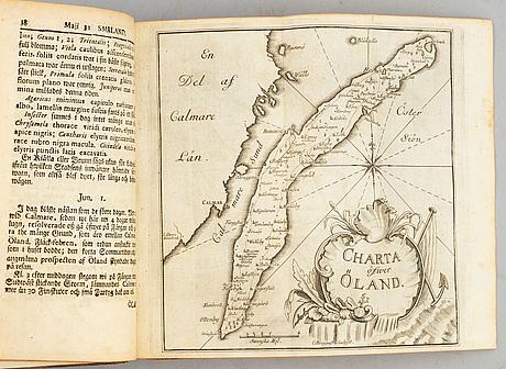 Linné om Öland och gotland 1745, med graverade kartor.