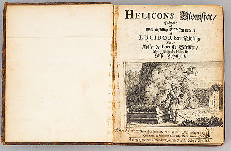 Helicons blomster, 1688.