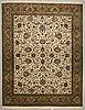 A carpet, kashmir part silk 303 x 234 cm.