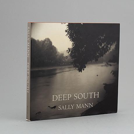 Fotobok. deep south, sally mann, signerad/dedikterad.