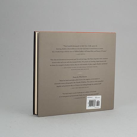 Photobook,. deep south, sally mann, signed/dedicated.