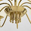 Paavo tynell, a mid-20th century chandelier for idman.