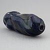 Monica backstrÖm, skulptur / vas, glas, kosta boda.