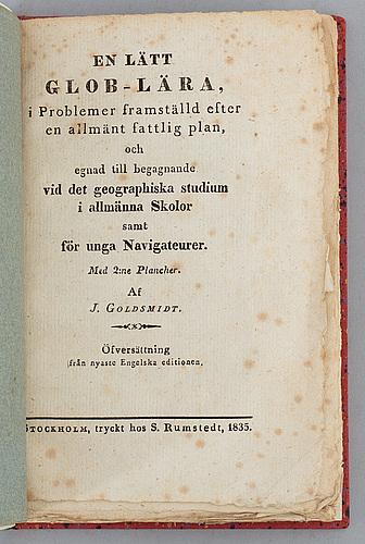 Plansch med rörlig skiva, 1835.