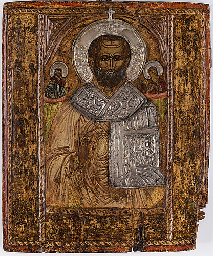 A 18th century russian icon.