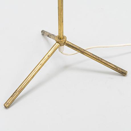 A mid-20th century floorlamp forstockmann orno.