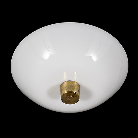 Paavo tynell, a mid-20th century ceiling light for idman.