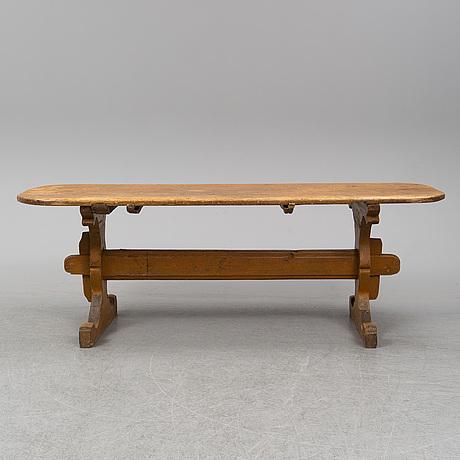 Bockbord, 1800-tal.